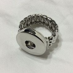 Snap Jewelry Stretch Ring