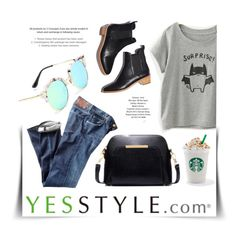 """""""YESSTYLE"""" by monmondefou ❤ liked on Polyvore featuring Loeffler Randall, Meimei, BeiBaoBao and Citizens of Humanity"""