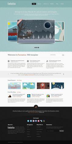 #Beautiful #webtemplate    83oranges.com