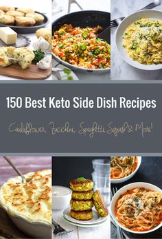 150 Best Keto Side Dish Recipes for all your low carb side dishes needs! 150 Best Keto Side Dish Recipes for all your low carb side dishes needs! Keto Foods, Ketogenic Recipes, Low Carb Recipes, Diet Recipes, Cooking Recipes, Recipies, 7 Keto, Keto Fat, Lamb Recipes