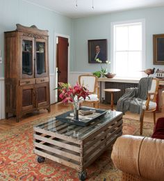 Home of Christina Salway and John Moskowitz, Photograph by Jane Beiles for The New York Times