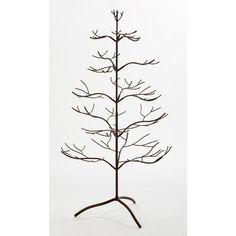 Shop for Metal Mahogany Ornament Tree. Get free delivery On EVERYTHING* Overstock - Your Online Christmas Store! Metal Ornament Tree, Wire Ornaments, Disney Ornaments, Ornament Display Tree, Tree Wall Decor, Tree Decorations, Halloween Decorations, Christmas Decorations, Christmas Ornaments
