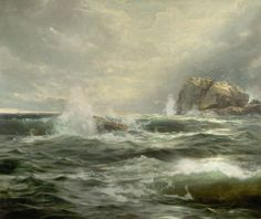 William Trost Richards - Clearing after a Storm, oil