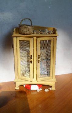 my beach cupboard in miniature