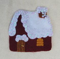 LISTA DE PRECIOS Felt Christmas, Gingerbread Cookies, App, Villas, Embellishments, Christmas Patterns, Miniatures, Little Cottages, Tejidos