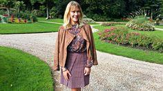 Jolie tenue d'Automne Blancheporte sur http://www.leblogdegilbertebyjulie.com/so-classique/