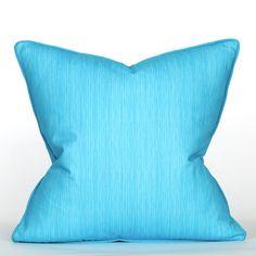 South Beach Collection Blue Lagoon Pillow