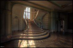 Stairs of Chateau Du Loup
