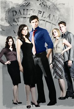 Smallville Final  My best TV friends in the whole world <3