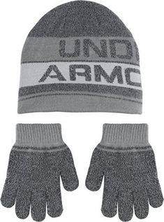 "Under Armour, Inc. Is an American company that manufactures footwear, sports and casual apparel. Under Armour Knit Beanie and Glove Combo   	 		 			 				 					Famous Words of Inspiration...""""I love quotations because it is a joy to find thoughts one might have, beautifully expressed with..."
