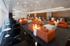 1. Platz: The Wing – Cathay Pacifics 1st Class Lounge in Hong Kong