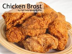 """Try out this Chicken Broast Recipe by Farah Jahanzeb in cooking show """" Food Afternoon with Farah """" on Geo TV."""
