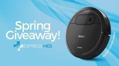 Ends 4-26 http://woobox.com/w8uwu5/iq59ix  Win a DEEBOT Robotic Vacuum Cleaner or a $150 AMEX card!
