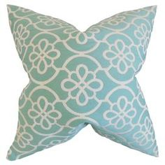Ingrid Pillow in Carribean Blue