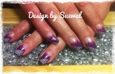 violett Nails, Painting, Beauty, Design, Finger Nails, Beleza, Ongles, Painting Art, Nail