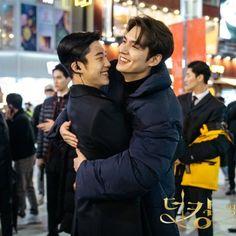 Korean Male Actors, Handsome Korean Actors, Asian Actors, Korean Drama Best, Korean Drama Movies, Korean Dramas, Kim Go Eun, Cha Eun Woo, Lee Min Ho Kiss