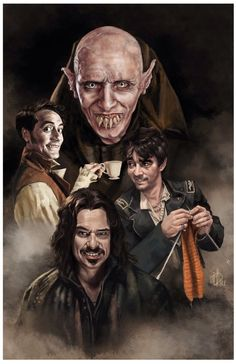 'What We Do in the Shadows' by Sian Mandrake