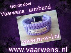 Vaarwens armbanden waarvan 2 euro naar die stichting gaat