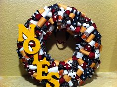 Florida State Seminoles Wreath