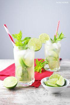 mojito mit gin und zitronengras   mojito with gin and lemon grass (vegan   werbung)