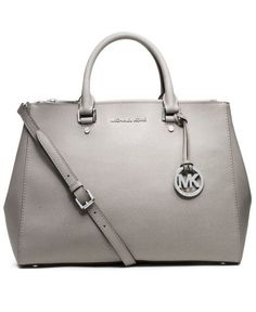 MICHAEL Michael Kors Large Sutton Satchel Handbags - All Handbags, Wallets & Small Accessories - Bloomingdale's Handbags Michael Kors, Satchel Handbags, Hermes Handbags, Cheap Handbags, Cheap Bags, Valentino Rockstud, Kinds Of Shoes, Old Hollywood Glamour, Fancy Pants
