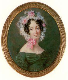 Anthelme Francois Lagrenee, Portrait of a Woman, 1820s