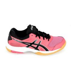 asics gel rocket rose