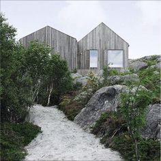Vega Cottage by Kolman Boye Architects 12 ← Back to Article / Find more inspire to Create: Architecture, Interior, Art and Design ideas Architecture Durable, Minimal Architecture, Landscape Architecture, Architecture Design, Sustainable Architecture, Ancient Architecture, Residential Architecture, Contemporary Architecture, Beach Cottage Style