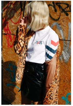#trendy #cool #trend #fashion #fashionista #fashionblogger #fashionaddict #it #streetstyle #itgirl #blonde #jacket #blonde #shirt #animalprint #print #lifestyle #skirt