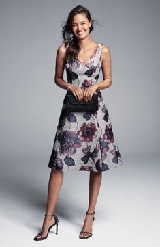 An easy-to-shop selection of casual and dressy casual wedding guest dresses.