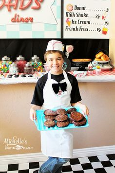 1950's Diner + Sock Hop + Old fashioned Soda Shop Party with tons of ideas via Kara's Party Ideas #1950s