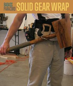 Badass Paracord Solid Gear Wrap | DIY Paracord Projects