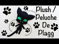 MIRACULOUS LADYBUG PLAGG PLUSH | PELUCHE DE PLAGG | CAT NOIR | COMO HACE...