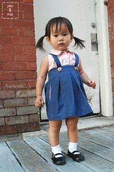 Suspender skirt tutorial