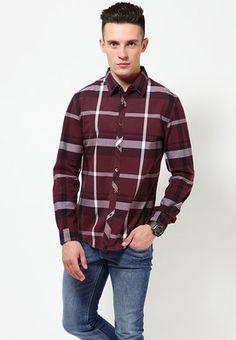 adb7fcf6f Buy Levis Red Tape Premium Maroon Casual Shirts Online - 3753494 - Jabong