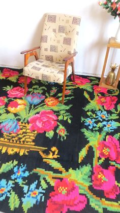 tapis kilim moldave boucherouite rag rug rose area rug persian rug tapis boheme beni ouarin rug. Black Bedroom Furniture Sets. Home Design Ideas