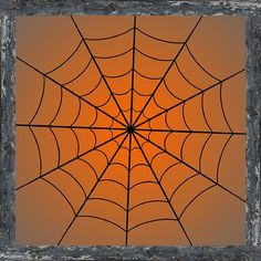 Photography Backdrop - Spider Web in Frame (3colors) Halloween party background - Spider web photo backdrop - Spider web in purple night sky