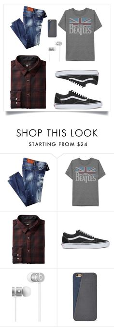 """""""Untitled #187"""" by amy-musiclover3 ❤ liked on Polyvore featuring JEM, Vans, Beats by Dr. Dre, FOSSIL, men's fashion and menswear"""