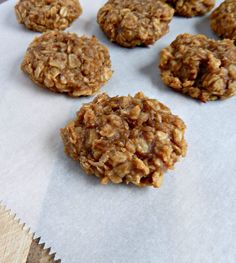 Strong Really IS the New Skinny {Recipe: Banana Nut Oatmeal Breakfast Cookies} Protein Cookies, Protein Snacks, Healthy Cookies, Vegan Snacks, Healthy Sweets, Vegan Desserts, High Protein, Healthy Snacks, Kid Snacks