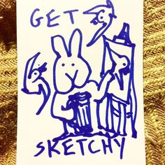 Join us every Wednesday at Trackside Tavern for some social sketch time with the Atlanta Sketch Society. The usual crew will be there from 8pm until ?? All skills levels and art styles welcome.  #atlsketchsociety Spread the word! This week's theme is #scaryghosts #getsketchy #drinkanddraw
