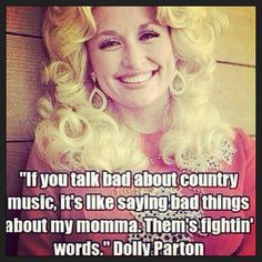 I talk bad about Dolly's mom all the time!!!