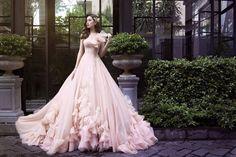 Váy Cưới Màu Hồng Pastel Đẹp Thanh Lịch Cho Tiệc Cưới Mùa Hè - Chuẩn Bị Cưới - Cưới Hỏi Việt Nam