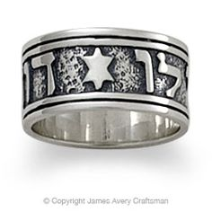 """Cannot wait to buy this!! Written in Hebrew """"I am my beloveds and He is mine"""" ~ By James Avery Craftsman"""