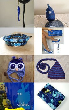 My World is Blue by Jeff Elliott on Etsy--Pinned with TreasuryPin.com