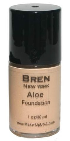 Cosmetics | Natural Liquid Aloe Foundation by Bren New York, a perfect combination of skincare and cosmetics in one. $19.00