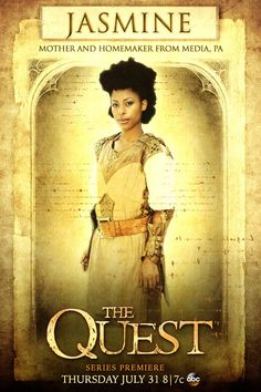 """Meet the Paladins: Jasmine Kyle: """"Being a mom is like being the best kind of hero."""" #TheQuest"""