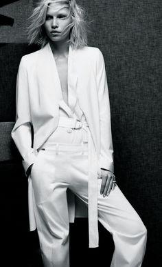 Aline Weber by Raf Stahelin for Dujour | December 2013