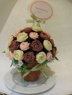Cupcake bouquet. Perfect for a birthday present.