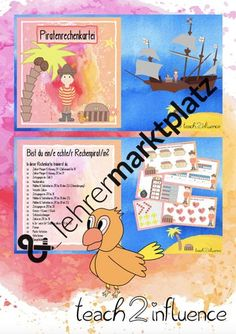Cover, Books, Motivation, Pictorial Maps, Multiplication Tables, Numeracy, Mathematics, Pirates, Primary School