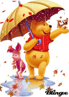 winnie the pooh autunno